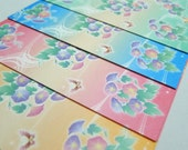 Spring Flowers - Morning Glory - Washi Chiyogami Paper Pack for Traditional Japanese Origami Paper Project- 24 sheets