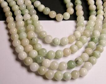 1 strand new Jade 6 mm round A quality 69 beads per strand - RFG1137