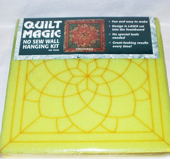 Items Similar To Quilt Magic No Sew Wall Hanging Kit 208