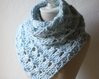 Knitting Pattern / Cowl Scarf Chunky Oversized / Urbana / PDF Digital Delivery
