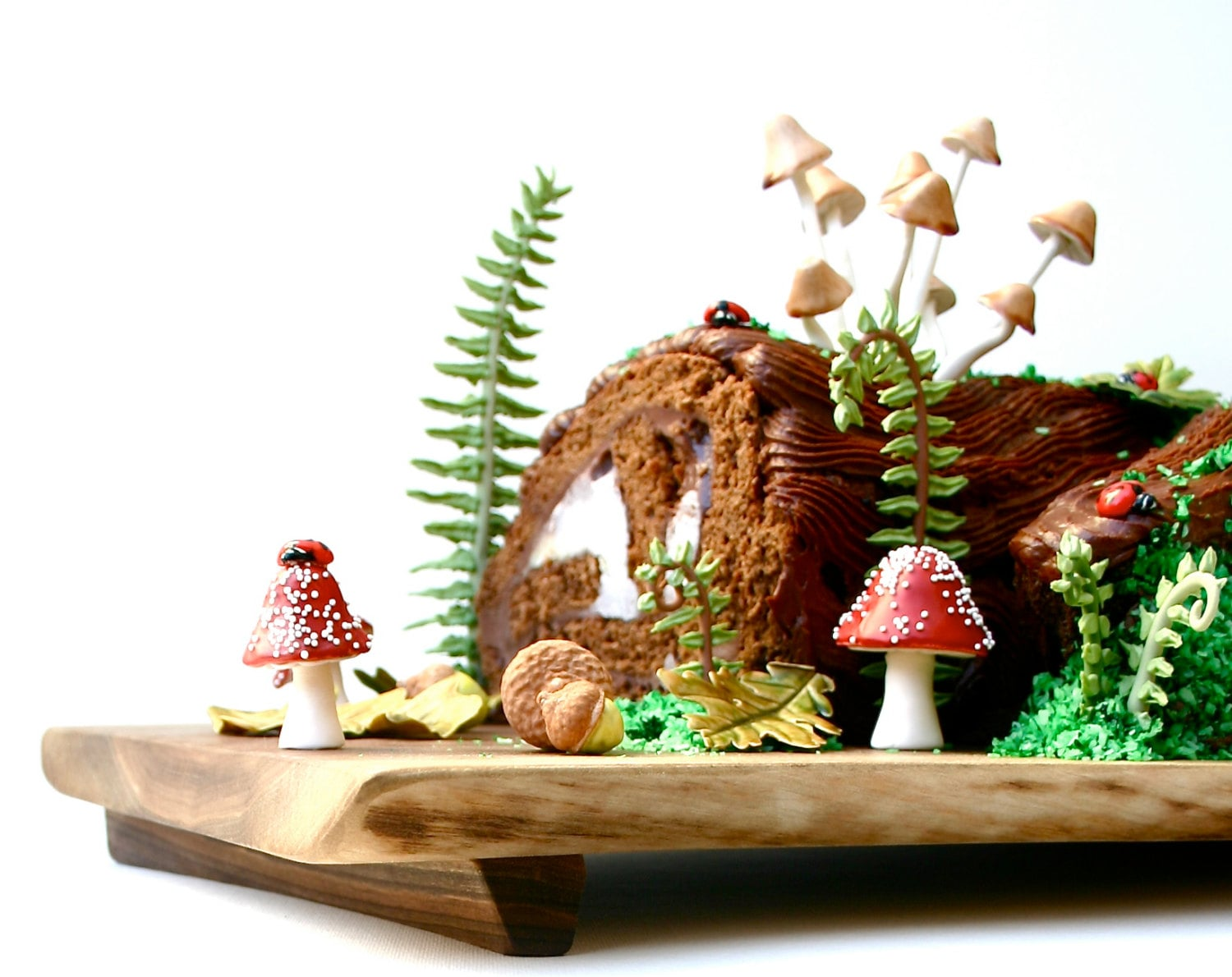 Diy woodland cake decorating set make this cake and eat it - Decorations exterieures de noel ...