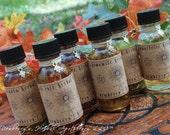 Herbal Brew Alquemie Oil Set Of 6 - For Ritual Preparations, Perfumery, Cosmetics, Magickal Needs