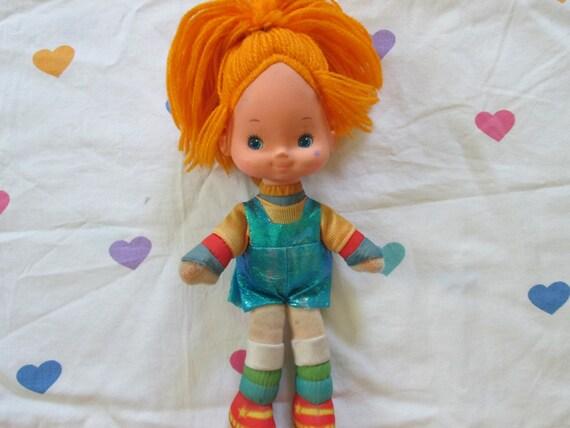 80s Toy Dolls : Items similar to sale rainbow brite hallmark doll