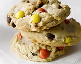 Big Reese's Pieces Cookies