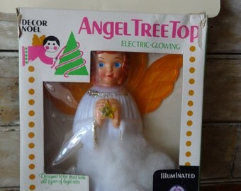 Vintage Retro Angel Topper Lovely Unique 1950's or 60's