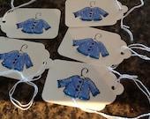 Baby Boy Gift Tags - Handmade