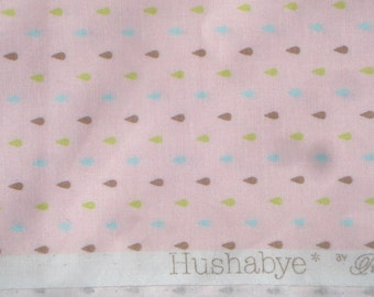 Tula Pink Hushabye Droplets pink moda fabrics FQ or more