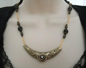 Medieval Necklace, medieval jewelry renaissance jewelry gothic jewelry goth jewelry victorian jewelry edwardian neo victorian art deco