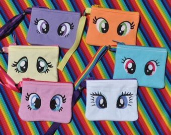 My Little Pony Inspired Wristlet Choose one of six styles
