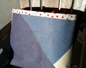 RBEF Donor Tote: Large and Upcycled!