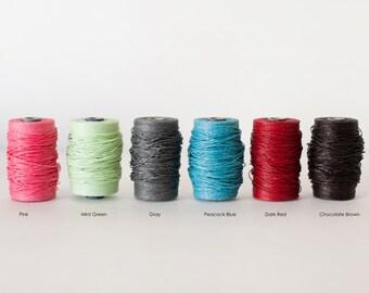 Waxed Irish Linen Thread-Bookbinding Thread