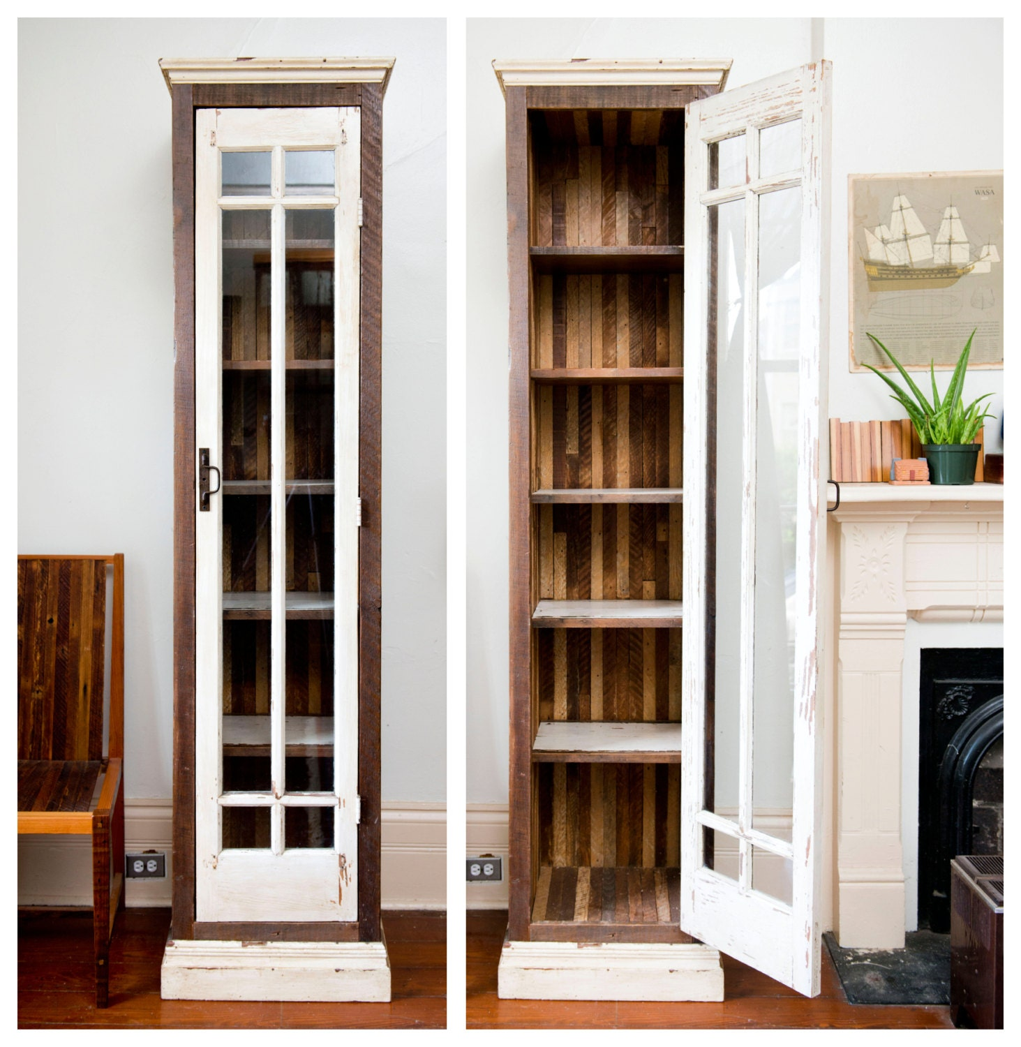 Narrow double closet double doors for closet for Narrow windows for sale