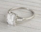 2.43 Carat Vintage Tiffany & Co. Engagement Ring