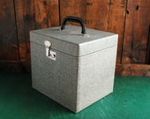 Vintage Carrying Case for Eumig P8 M Projector, Locking Hard Case for Camera or Electronics