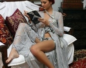 50 Shades Of Grey Nightgown Lingerie Sleepwear Satin Tie Straps With Panties