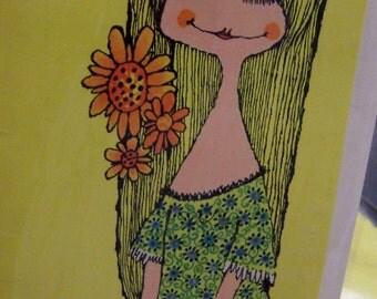 laff lines laurel card