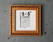 Reclaimed Industrial Maple Picture Frame (5x5)