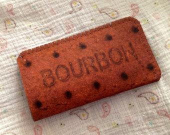 iPhone 5 iPhone 4S Case - iPhone 5 Sleeve - iPhone 4S Cover - iPhone Case Bourbon Biscuit