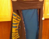 Roll Top Recycled Tee Skirt Batman RESERVED for LONNIE