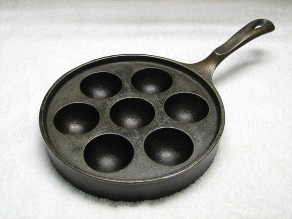 Griswold Cast Iron Aebleskiver Takoyaki Pan Wedding Gift