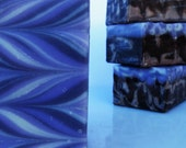 Black Amber  & Lavender Handcrafted Soap with shea butter, vegan