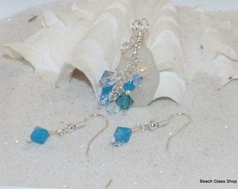 Lake Jewelry - Sea Glass Necklace - Summer Jewelry - Lake Erie Beach Glass