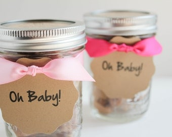 Salted Caramel Eco Baby Shower Favors - 25 Guests