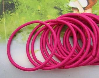 50pc Azalea hair elastics,ponytail elastics,ponytail holders