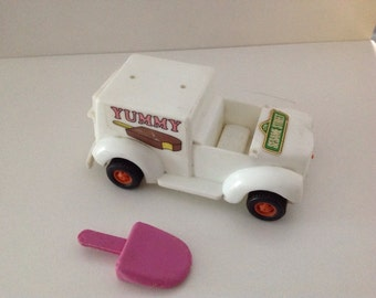Vintage 1976 KTC Sesame Street Ice Cream Truck CTW