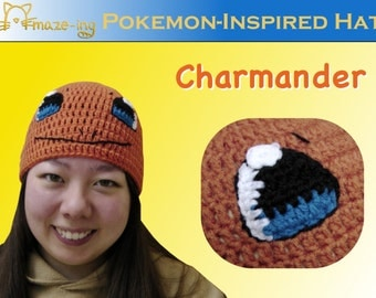 Amaze-ing Charmander-Inspired Hat - Made to Order