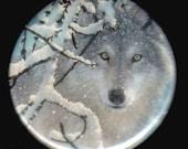 Lone Wolf Button