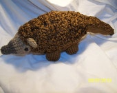 Crochet pangolin scaly anteater Any colors you want