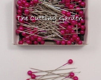 """Corsage / Boutonniere Pins   2"""" Strong Pink Pearl"""