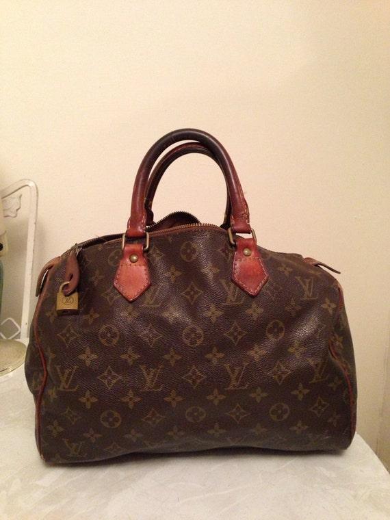 Vintage Louis Vuitton Speedy Bag: Authentic LV