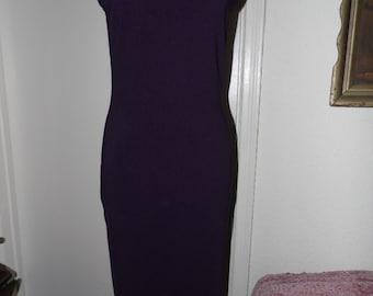 Vintage Evolution Purple Glitter Evening dress/Sz 2