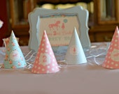 Carousel Party Hats