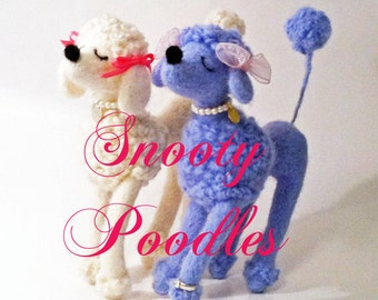 Snooty Poodle in Your Choice of Color and Style