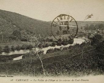 Carhaix, Finistère, France - Vintage French Postcard