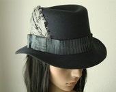 Felt Hat by Babette's Hatworks, LLC
