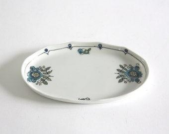 Vintage Hand Painted Porcelain Dish