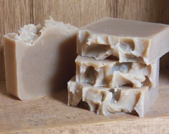 Beer soap cold processed lye soap