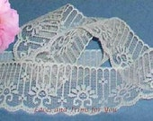 WHOLESALE Ivory Lace Trim 100 Yds Candlewick 1-3/4 inch Lot R103 Added Items Ship No Charge