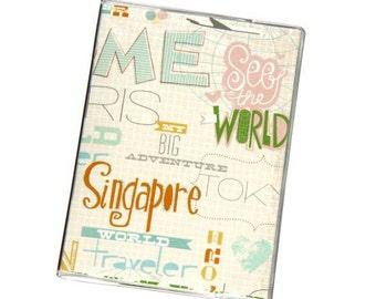 PASSPORT COVER - Adventure Doodles