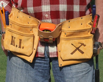 ANY DESIGN: Custom Tool Belt- Custom dad gift- GUARANTEED delivery for Christmas!!