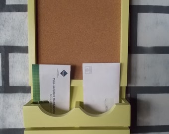 Message Board--Mail Organizer--Message Board--Recipe Card Holder--Coupon HolderWall Decor--Kitchen Decor