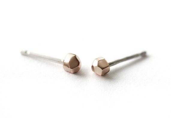 Sunset Rocks Small Earrings - Bronzed