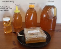 Honey Comb - 100% Pure Local Raw Honey - 1 Pound Honey Comb - Made in Virginia - Straight from the Bees