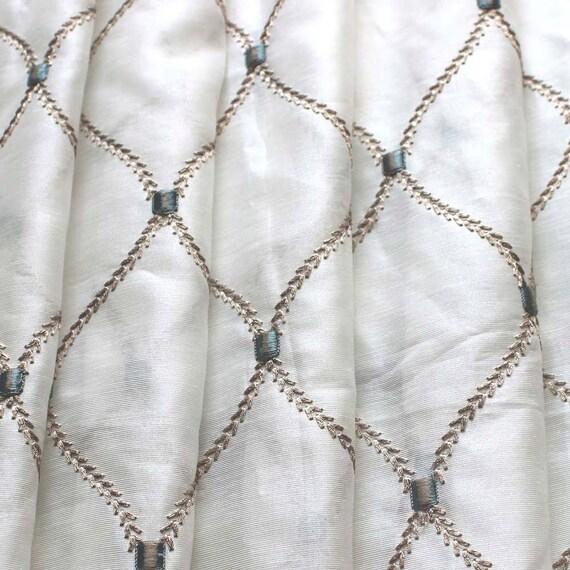 ... Sheer Curtain Panels Drapery Window Treatment Fabric Bedroom Curtain