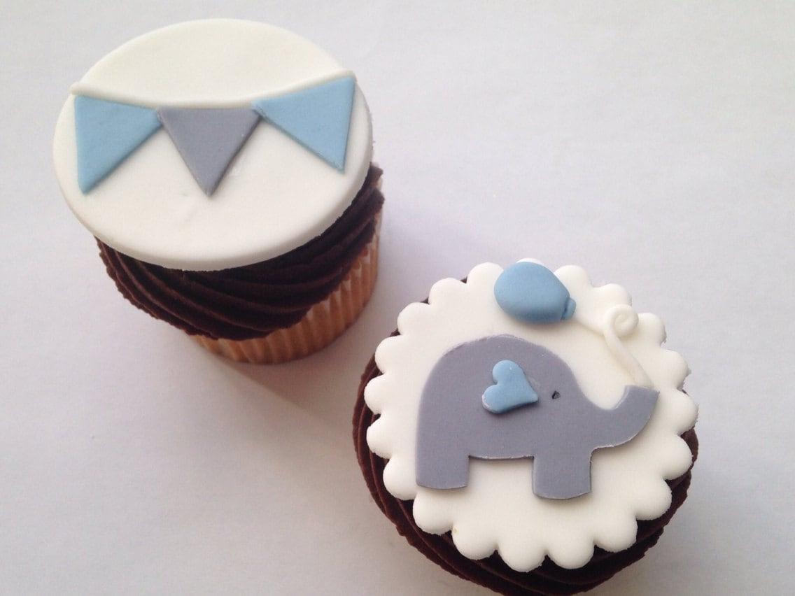 Elephant Cupcake Cake