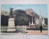 Lourdes - Early 1900s - St Michel et l'Esplanade - Antique French Postcard